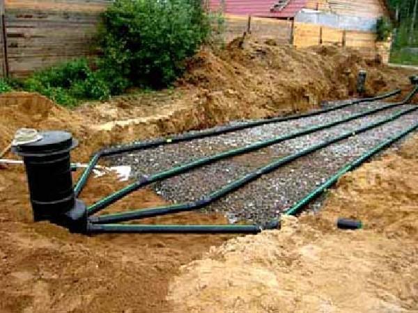 Загородная канализация своими руками
